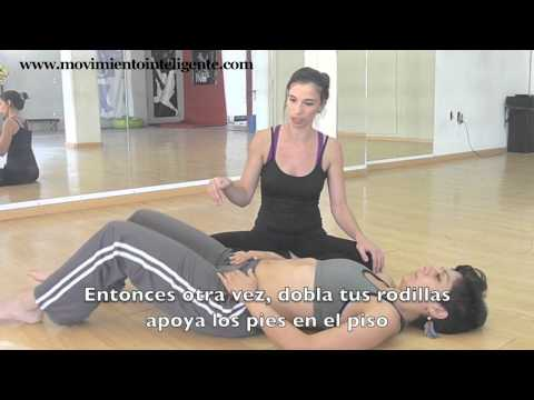 Cmo liberar las caderas (cmo hacer el split) - Feldenkrais para bailarines con Lea Kaufman