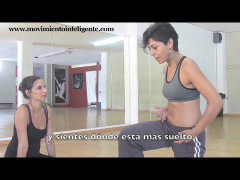 Cómo liberar las caderas (cómo hacer el split) - Feldenkrais para bailarines con Lea Kaufman