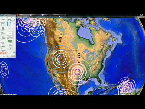 12/09/2013 -- Yellowstone Earthquake Swarm Underway -- craton pressure