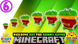 Ryan's World:  Gus the Gummy Gator in Minecraft Life!  [Part 06 of 09]