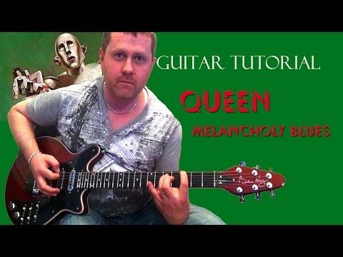 My Melancholy Blues - Queen - Acoustic Guitar Tutorial