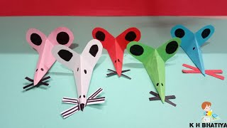 DIY Paper Crafts for Kids Activity : Paper Rats