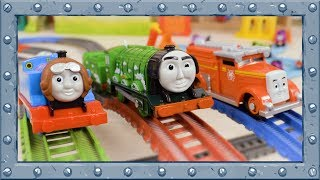 Red vs Blue vs Green - Which Color is the Fastest? - Thomas and Friends #71