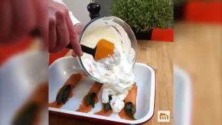 Roulade de saumon aux asperges