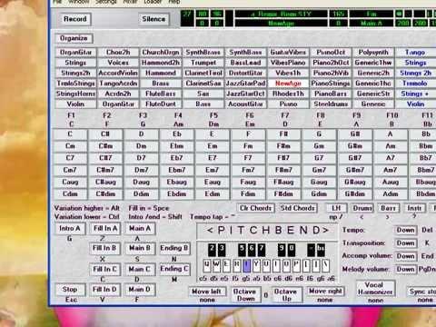 Organ Tunggal Remix House Music Dangdut DJ di PC - OMB (One Man Band) dg Coolsoft VirtualMIDISynth