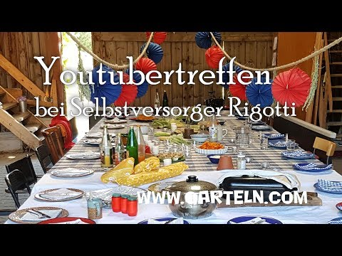 Besuch bei Florian Rigotti - #gyt2018 - Garten Youtuber Treffen 2018