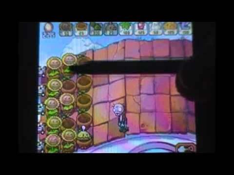 Let's Play Plants vs Zombies (DSiWare) Part 19- Melon-Pult Madness