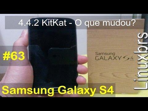 Samsung Galaxy S4 i9505 - Android 4.4.2 KitKat - mudanças, novidades e bug - PT-BR - Brasil