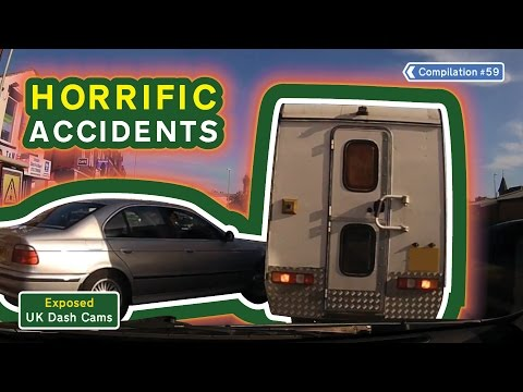 UK Dash Cams - Poor Drivers, Road Rage + Crash Compilation #59