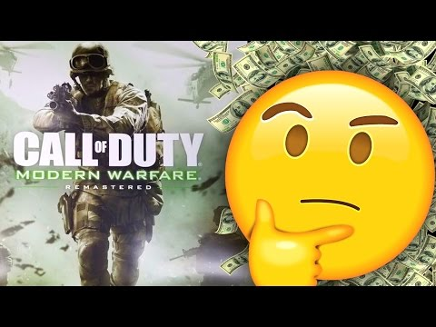 Remastering Call of Duty Games: Activision's New Business Model? (Infinite Warfare/MWR Bundles)