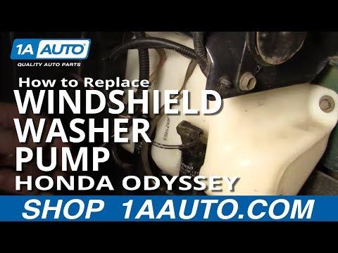 How to install replace rear vent window motor honda for 2000 honda odyssey window regulator