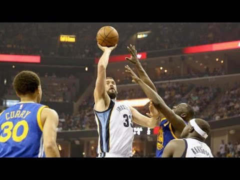 Marc Gasol notches double-double as Grizzlies take series lead vs. Warriors