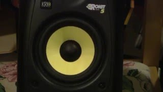 KRK Rokit 5 G2 Studio Monitors Unboxing & Review
