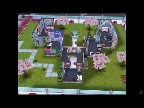 The Sims FreePlay- Neo Tokyo House