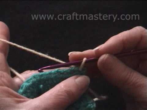 CrochetByKarin: Double Crochet V Stitch - blogspot.com