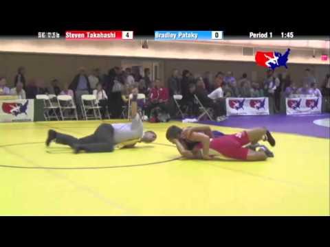 FS 55 KG - C2 - Steven Takahashi (CAN) vs. Brad Pataky (NLWC)