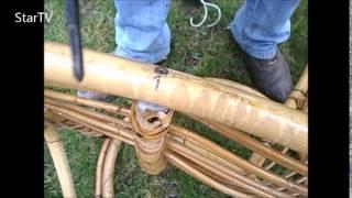 naprawa bujanego fotela rattanowego