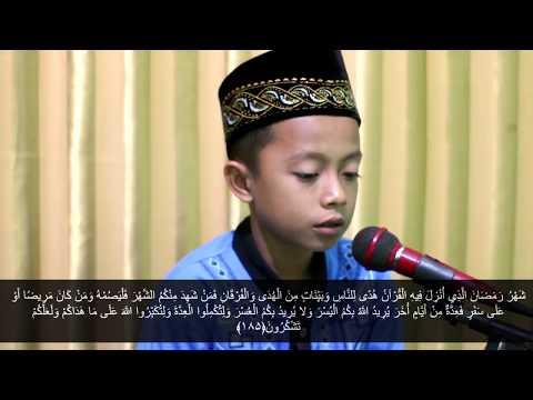 Qori Surah Al-Baqarah ayat 183-185 | Fadli Mushafa