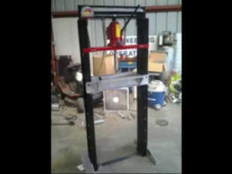 Hydraulic Press Homemade
