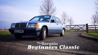 The Bargain Beginners Classic - Mercedes 190 Driving Review