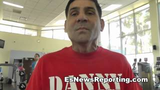 Angel Garcia Harsh Words To Mauricio Herrera