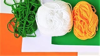 Easy DIY Independence Day Craft Ideas | Wool Craft | Paper Craft