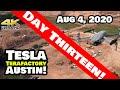 Tesla Gigafactory Austin 4K 8/4/20 - Tesla Terafactory Austin TX - Points of Interest Edition!
