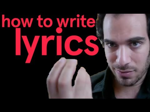 How To Write Lyrics