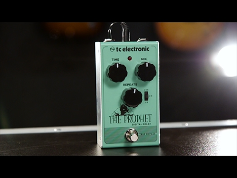 Tore Mogensen Demos The TC Electronic The Prophet Digital Delay Effect Pedal