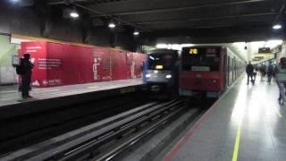 """NS-74 y NS-04 Tren Ruta Verde pasando por Parque O"""" Higgins"""