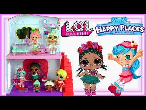Shopkins Happy Places & LOL Surprise • Przygotowania Do Imprezki • Bajki Dla Dzieci