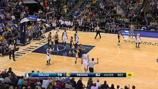 video DIRK ONLY 4 POINTS AWAY FROM 28000 POINTS IN HIS CAREER.... 3*29*15 MAVS VS PACERS.