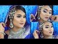 Lagu Bangladeshi & Arabian Fusion Bridal Makeup Tutorial | Bridal Week Day-1 | Raisa Naushin