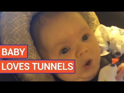 Adorable Baby Loves Tunnels | Daily Heart Beat