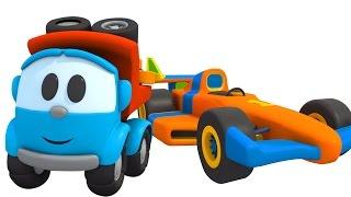 Мультфильм для малышей Грузовичок Лева. Из чего состоит машинка?