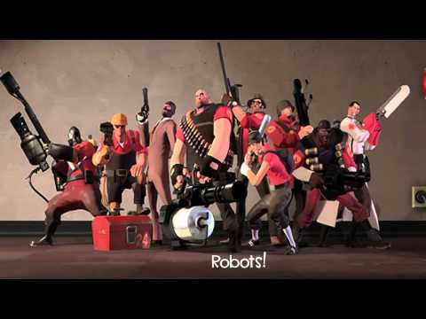 Misc Computer Games - Team Fortress 2 - Rocket Jump Waltz