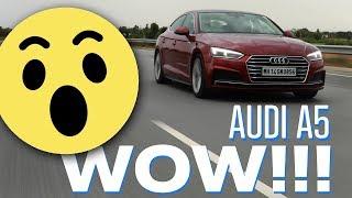 2019 Audi A5 Sportback Review - Fast Enough 🤔 | Hindi Review