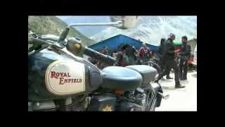 Royal Enfield Himalayan Odyssey 2012 - Day 7 - 29th June 2012 - Ride out from Keylong