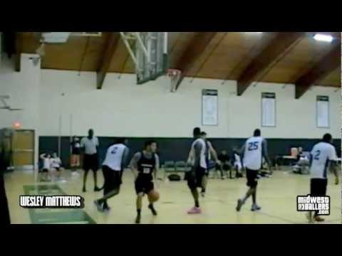 Wesley Matthews SHOWS OUT at the Milwaukee Pro-Am