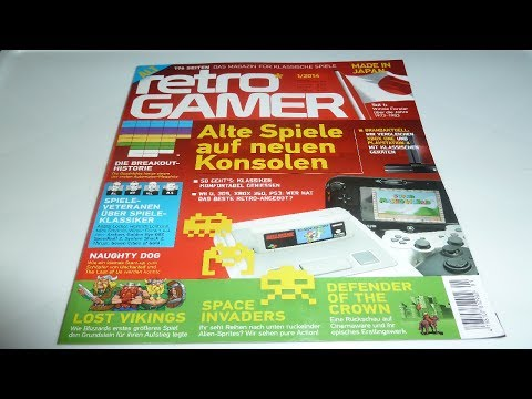 Retro Gamer 1/2014 Magazin - Let's Show {GERMAN}