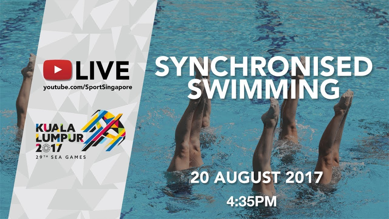 Synchronised Swimming Duet Free Final   29th SEA Games 2017