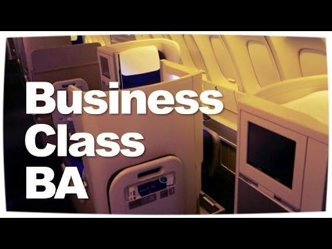 British Airways Business Class Flight   BA Club World Bangkok ✈ London Reviewed