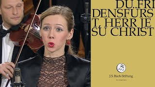 "J.S. Bach - Cantata BWV 116 ""Du Friedefürst, Herr Jesu Christ"" (J.S. Bach Foundation)"