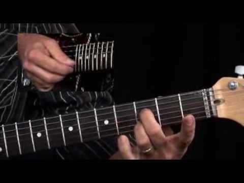 Lesson Guitar - Slow Blues Rhythym Methods