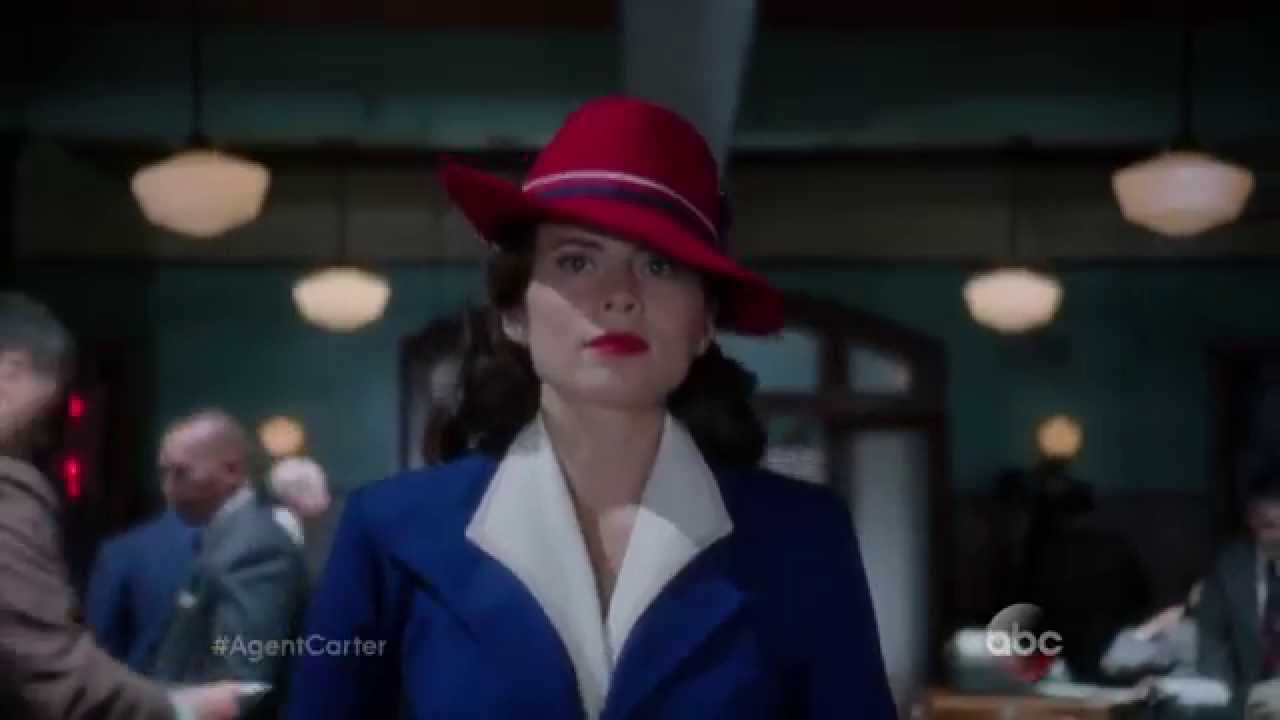 Peggy Carter Gets to Work