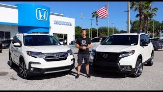 Which SUV is the better BUY? 2019 Honda Passport or Pilot?