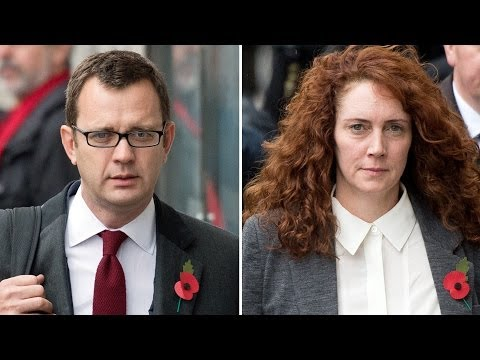 Rebekah Brooks And Andy Coulson In 'Secret Six-Year Affair'