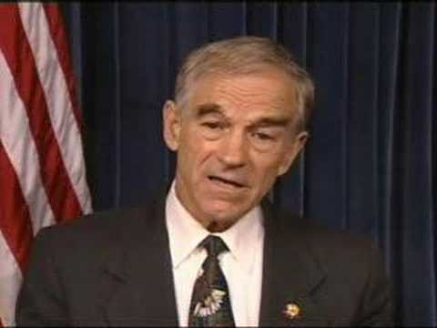 Ron Paul before the Iraq war. Wise man see. Fools Rush in. I