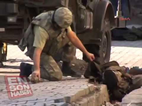 Beytüşşebapta çatışma Sokakta PKKlı Cesetleri