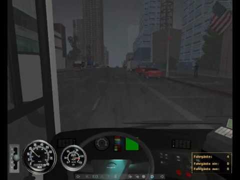 City Bus Simulator 2010 - 2nd Video with Design-X X3-Evo